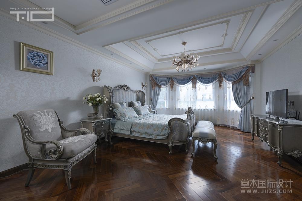 【驸马山庄】320平法式新古典装修-别墅-欧式古典