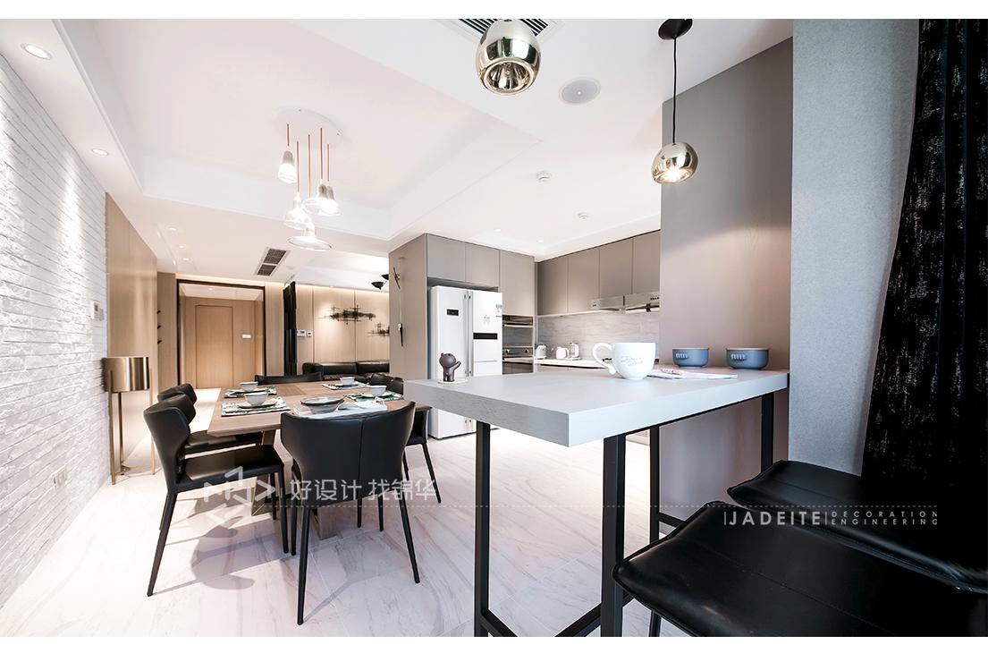 【绿城玉兰公寓】160平 现代简约风格装修-跃层复式-现代简约
