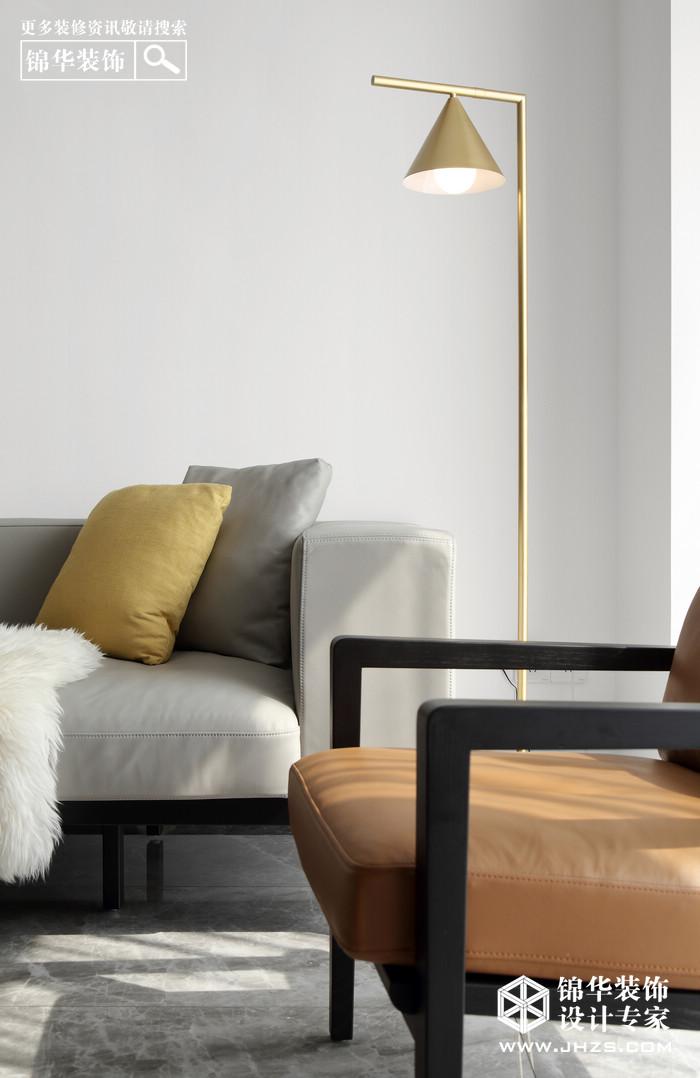 【紫金华府】120平 现代风格装修-三室两厅-现代简约