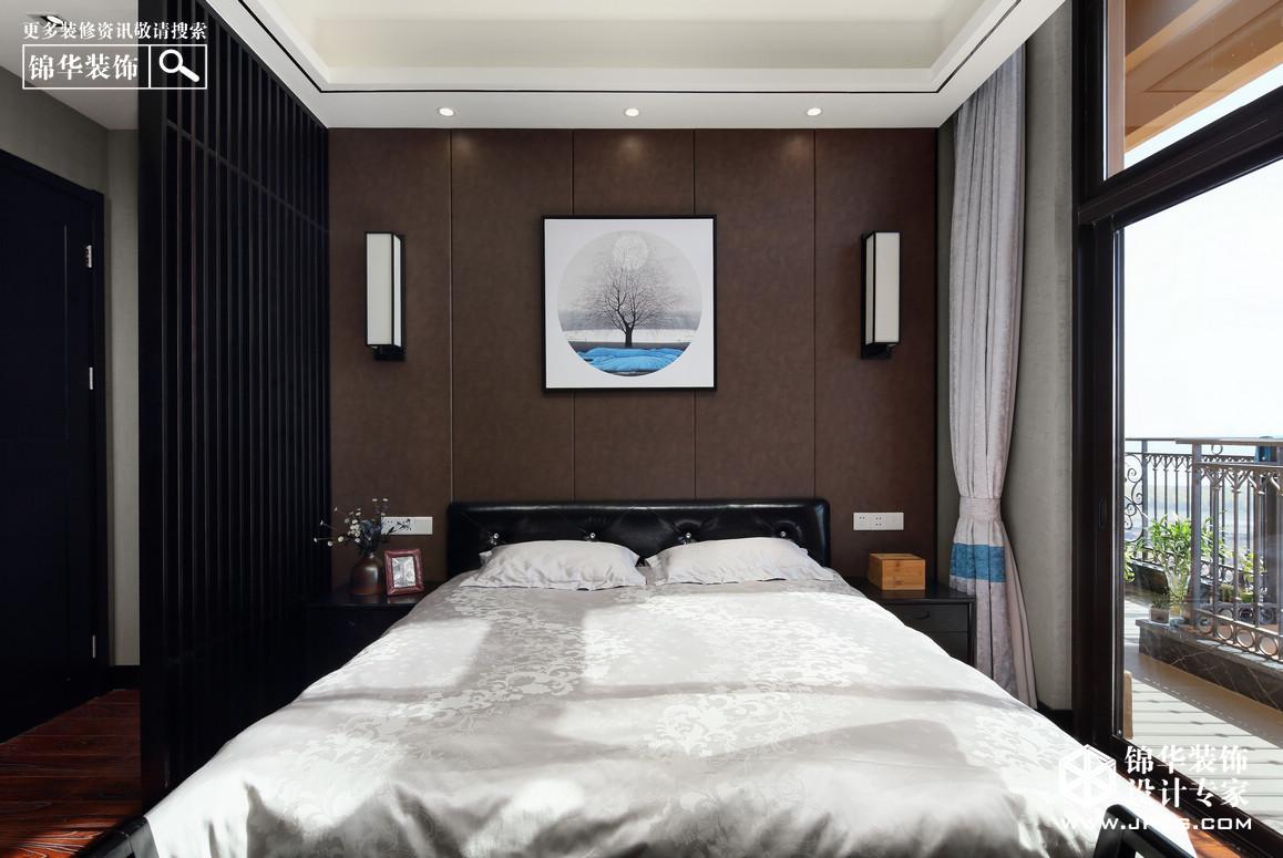 【雅居乐滨江花园】228平 新中式风格装修-四室两厅-新中式