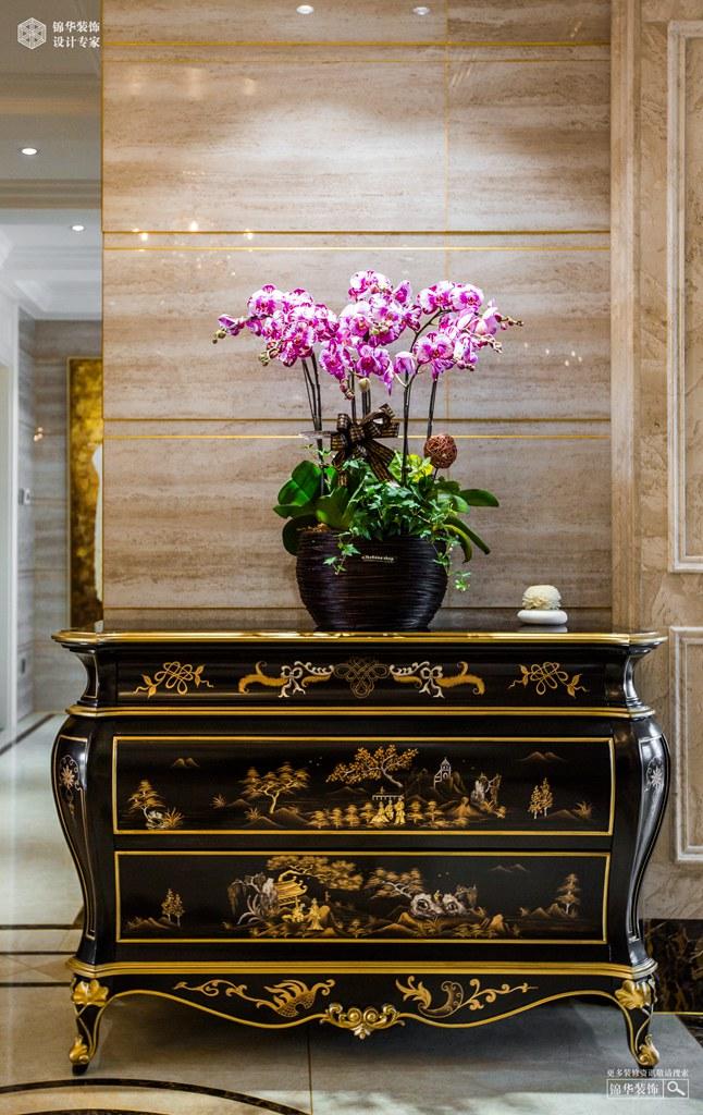 天际花园360㎡ 欧式古典风格装修-跃层复式-欧式古典