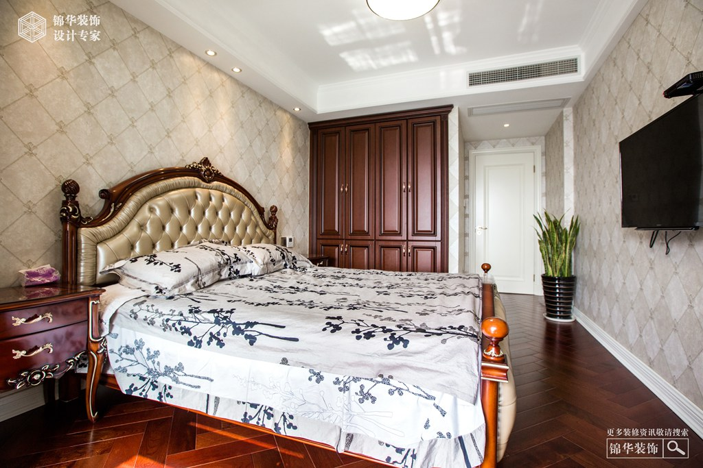 长岛府160㎡ 欧式风格装修-三室两厅-欧式古典