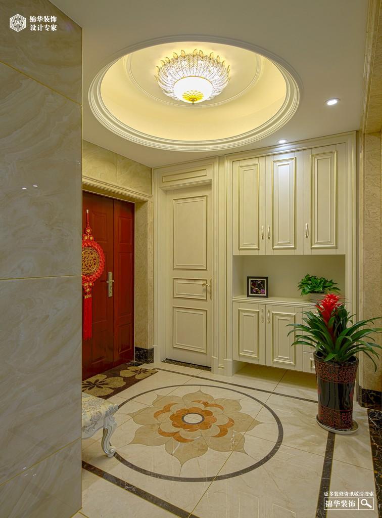 长岛府126㎡新古典风格装修-三室两厅-新古典
