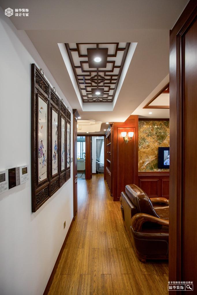 赞成学士府145㎡新中式风格装修-三室两厅-新中式
