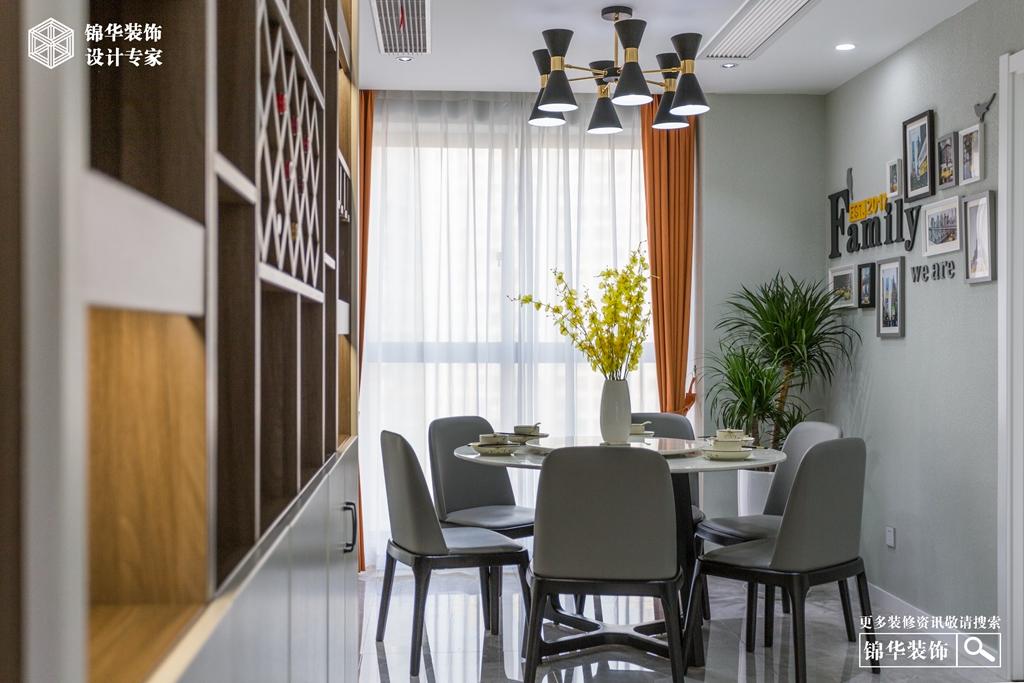 汎港润园130㎡ 现代风格装修-三室两厅-现代简约