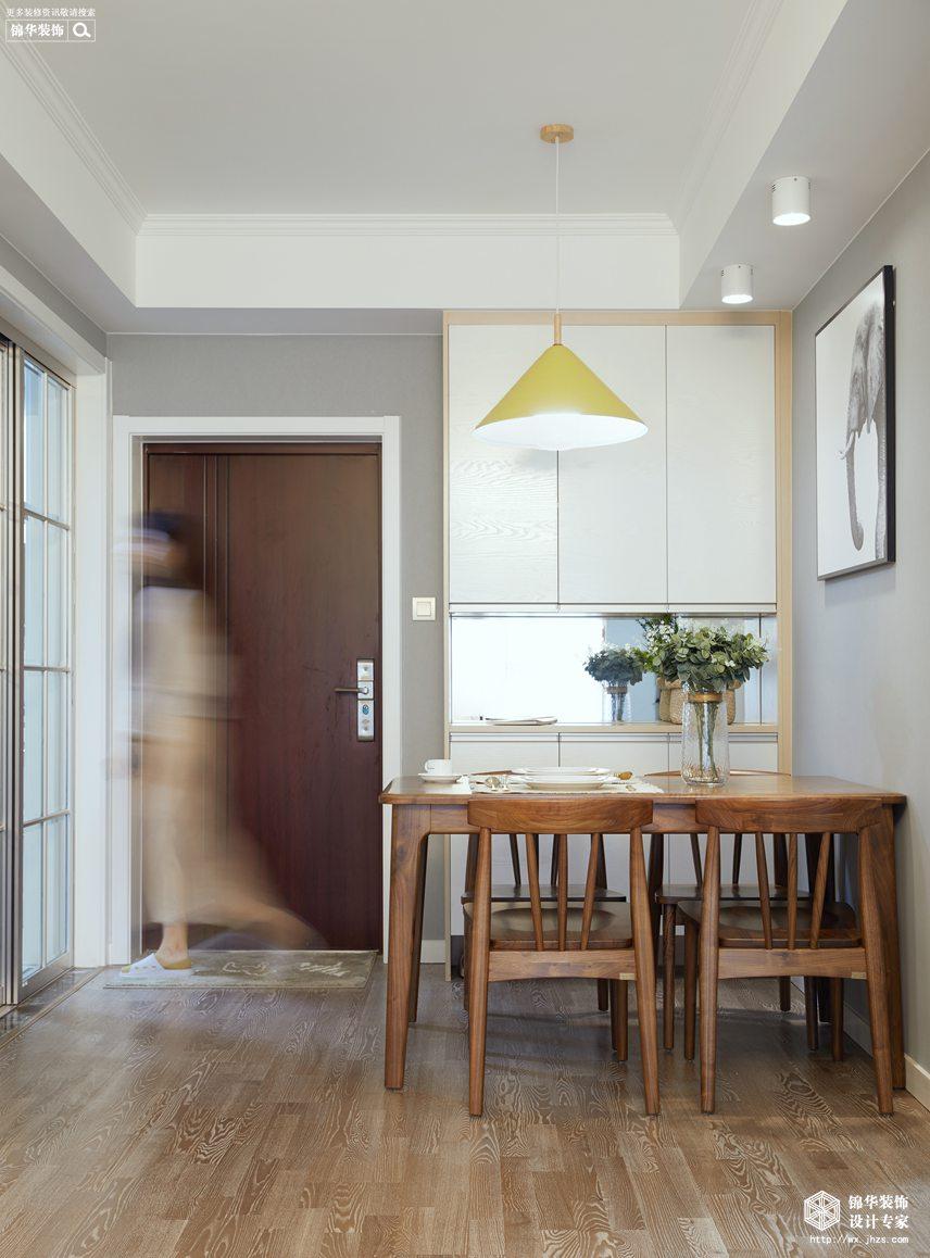 凤凰城80平北欧风格实景图装修-两室两厅-北欧