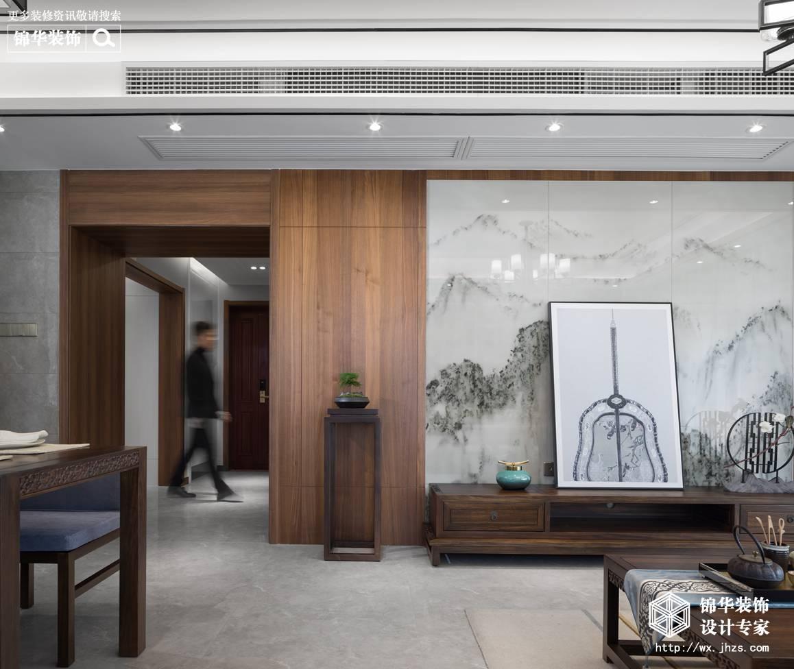 玉兰花园 165㎡  四室两厅一厨三卫  新中式风格