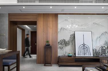 玉蘭花園 165㎡  四室兩廳一廚三衛  新中式風格
