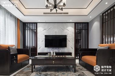 阿卡迪亞頂復 五室兩廳一廚三衛新中式風格實景圖(素-凈)300平