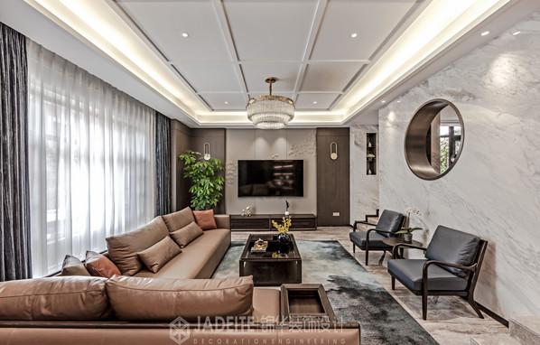 诺德上湖城 450㎡ 新中式风格 排屋