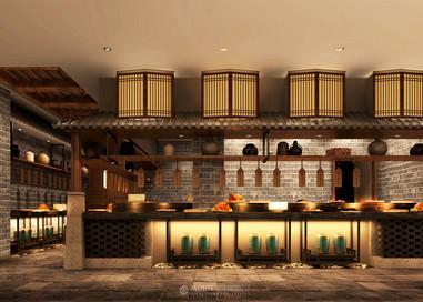 中式酒店 1000㎡