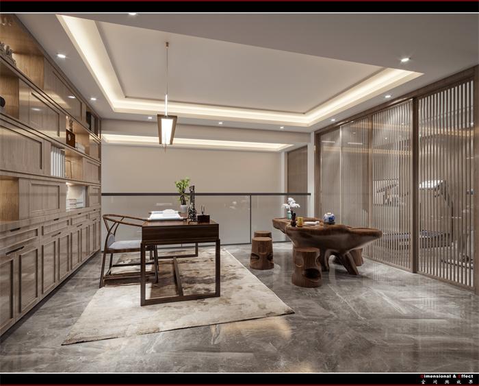 融信瀾天  428㎡ |  現代裝修-別墅-現代簡約