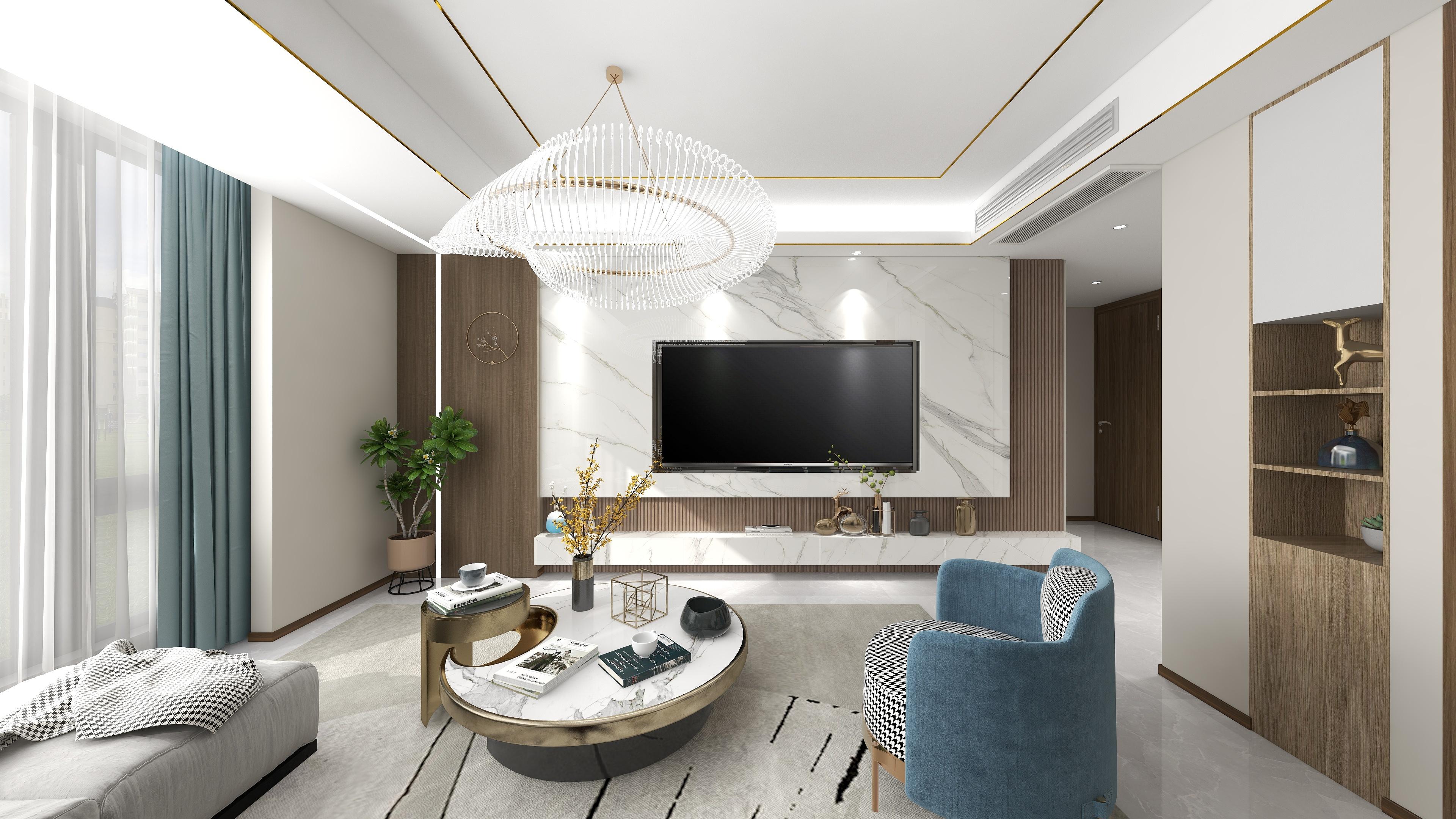 天瀾灣-現代輕奢-142㎡-四室兩廳