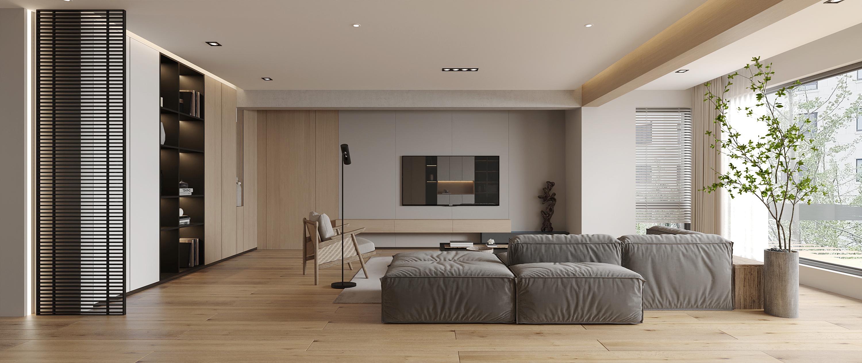 光明御品-現代簡約-135㎡-三室兩廳